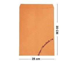 Bao Thư Vàng A4 25x35cm