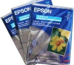 Giấy In Ảnh EPSON A4 2 Mặt (20 tờ/xấp)