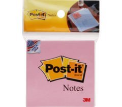 Giấy Note Post-it 7.5×7.5cm – hồng