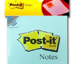 Giấy Note Post-it 7.5×7.5cm – xanh dương
