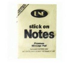 Giấy Note Vàng 3×2 (7,6*5,1cm) UNC