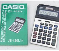 Máy Tính Casio JS-120L 12 Số