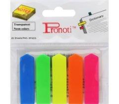 Note phân trang 5 màu nhựa Pronoti