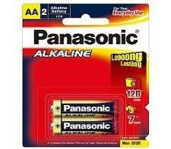Pin 2A Panasonic – Vỉ 2 viên