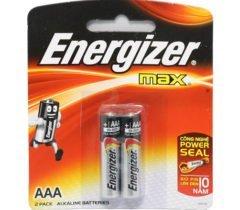 Pin 3A Energizer – Vỉ 2 Viên