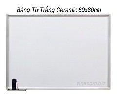 Bảng Từ Trắng Ceramic 60x80cm