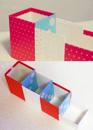 cách làm hộp đựng bút handmade đẹp