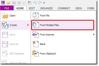 Cách nối file pdf bằng foxit reader