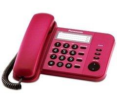 Điện thoại bàn Panasonic KX-TS580 (Đỏ)