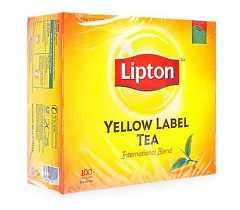 Trà Lipton nhãn vàng (100 gói x 2g)
