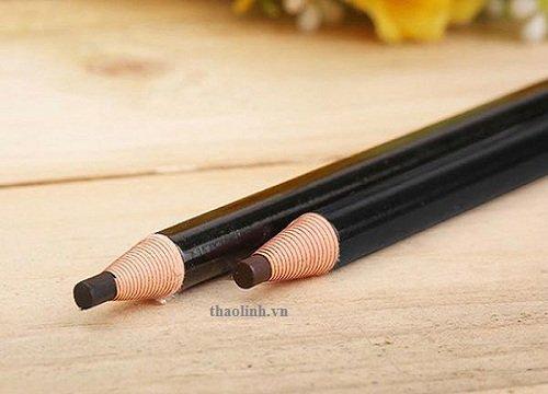 vẽ lông mày bằng bút chì xé